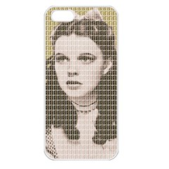 Over The Rainbow - Gold Apple iPhone 5 Seamless Case (White)