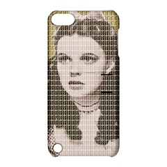 Over The Rainbow - Gold Apple iPod Touch 5 Hardshell Case with Stand