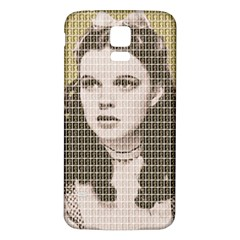 Over The Rainbow - Gold Samsung Galaxy S5 Back Case (White)