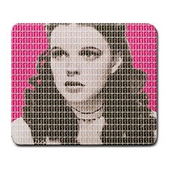 Over the Rainbow - Pink Large Mousepads