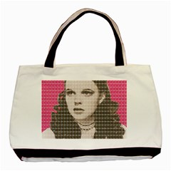 Over the Rainbow - Pink Basic Tote Bag (Two Sides)