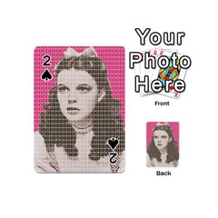 Over The Rainbow   Pink Playing Cards 54 (mini)