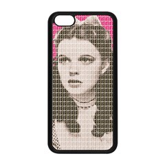 Over the Rainbow - Pink Apple iPhone 5C Seamless Case (Black)