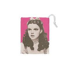 Over the Rainbow - Pink Drawstring Pouches (XS)