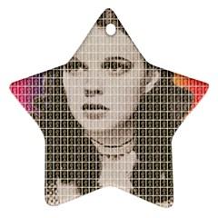 Over the Rainbow Ornament (Star)