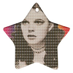 Over the Rainbow Star Ornament (Two Sides)