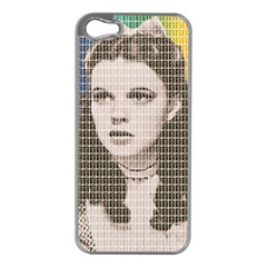 Over the Rainbow Apple iPhone 5 Case (Silver)