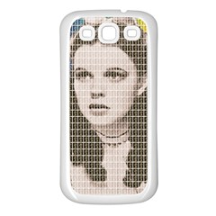 Over the Rainbow Samsung Galaxy S3 Back Case (White)