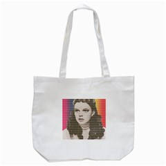 Over the Rainbow Tote Bag (White)