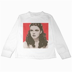 Over the Rainbow - Red Kids Long Sleeve T-Shirts