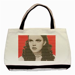 Over the Rainbow - Red Basic Tote Bag (Two Sides)