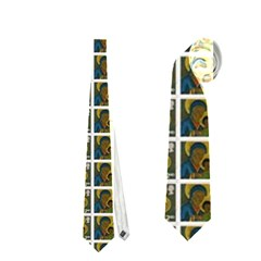 Green Flag Neckties (one Side)