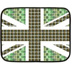 Green Flag Fleece Blanket (mini)