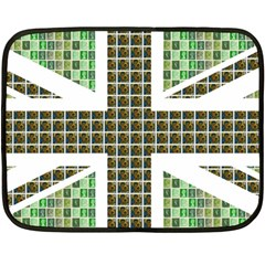 Green Flag Double Sided Fleece Blanket (Mini)