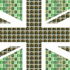 Green Flag Magic Photo Cubes