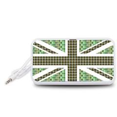 Green Flag Portable Speaker (White)