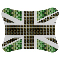 Green Flag Jigsaw Puzzle Photo Stand (bow)