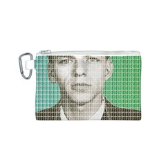 Sinatra Mug Shot Canvas Cosmetic Bag (S)