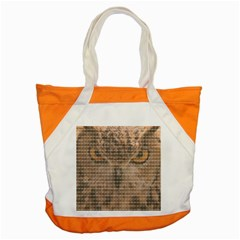 Owl Accent Tote Bag