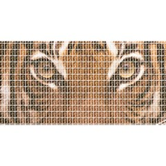 Tiger Tiger YOU ARE INVITED 3D Greeting Card (8x4)