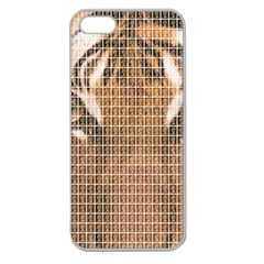 Tiger Tiger Apple Seamless iPhone 5 Case (Clear)