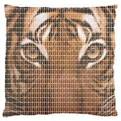 Tiger Tiger Large Flano Cushion Case (Two Sides)