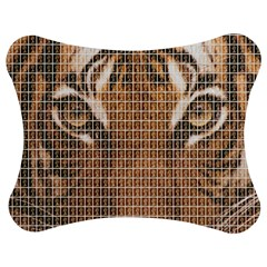 Tiger Tiger Jigsaw Puzzle Photo Stand (Bow)