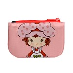 Berry Girl Coin Change Purse Back