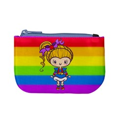 Rainbow Cutie Coin Change Purse