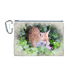 Foxy Lady Canvas Cosmetic Bag (M)