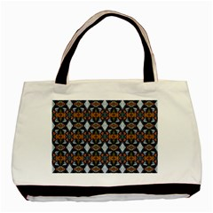 Stones Pattern Basic Tote Bag (Two Sides)