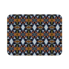 Stones Pattern Double Sided Flano Blanket (Mini)