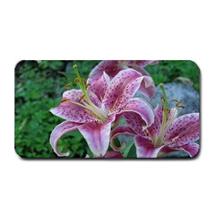 Pink Tiger Lilies Medium Bar Mats