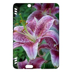 Pink Tiger Lilies Kindle Fire HDX Hardshell Case