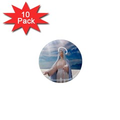 Our Mother Mary 1  Mini Magnet (10 pack)