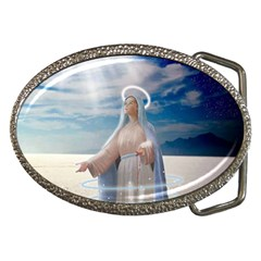 Our Mother Mary Belt Buckles
