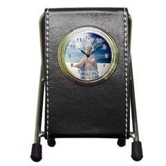 Our Mother Mary Pen Holder Desk Clocks