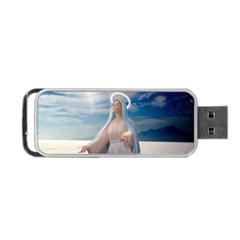 Our Mother Mary Portable USB Flash (Two Sides)