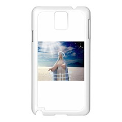Our Mother Mary Samsung Galaxy Note 3 N9005 Case (White)