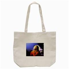 Jesus Praying Tote Bag (Cream)