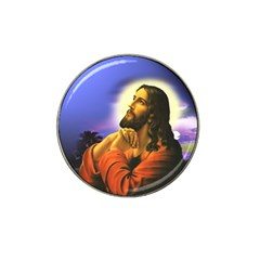 Jesus Praying Hat Clip Ball Marker