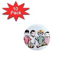 Two For Flinching 1  Mini Magnet (10 pack)