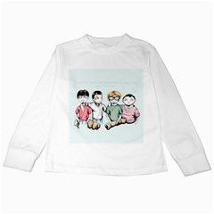 Two For Flinching Kids Long Sleeve T-Shirts