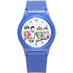 Two For Flinching Round Plastic Sport Watch (S)