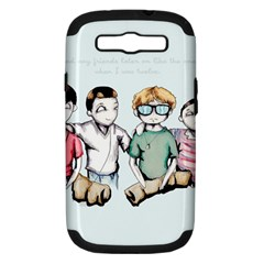 Two For Flinching Samsung Galaxy S III Hardshell Case (PC+Silicone)