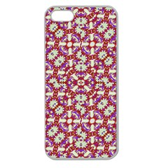 Boho Check Apple Seamless iPhone 5 Case (Clear)