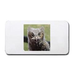 baby screech owl Medium Bar Mats