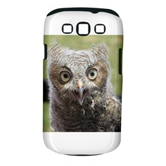 baby screech owl Samsung Galaxy S III Classic Hardshell Case (PC+Silicone)
