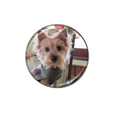 Tea Cup Yorkie Hat Clip Ball Marker (10 pack)