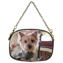 Tea Cup Yorkie Chain Purses (One Side)